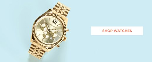Shop Mens Watches. Image of  gold metal watch,