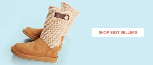 Women's Best Sellers. Image of an Ugg Boot.