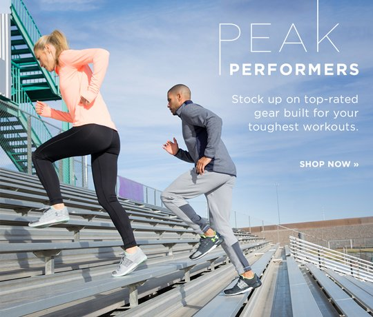 Hero-2-PeakPerformers-1-18-2017 Peak Performers. Stock up on top-rated gear built for your toughest workouts. Shop Now.