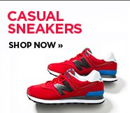 sp-2-CasualSneakers-16-10-2016 Image of a red New Balance classic sneaker.