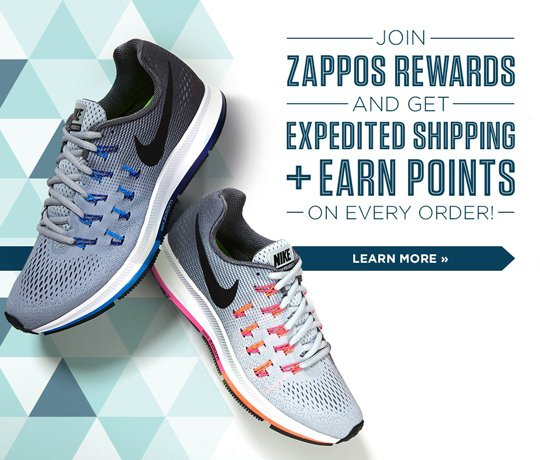 Hero-1-NikeLoyalty-14-11-2016 Join Zappos Rewards and get $15 on use. Existing customers only, no minimum purchase. Join Today.