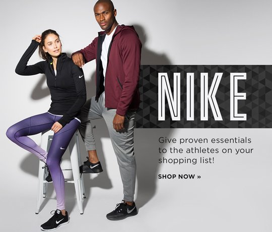 Hero-3-Nike-4-12-2016 Nike Give proven essentials to the athletes on your shopping list! Shop Now.