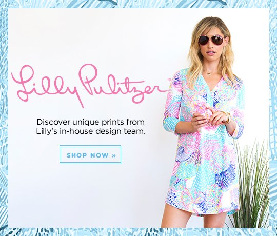 Lilly Pulitzer. Discover unique prints from Lilly's in-house design team. Shop Now