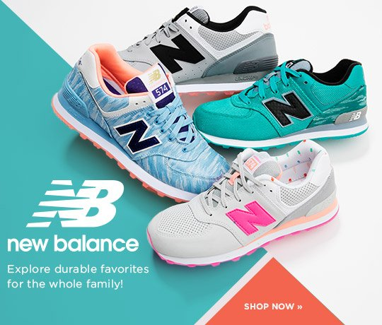 New Balance. Explore durable favorites for the whole family! Shop Now.