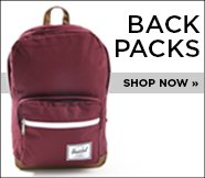 Backpacks. Shop Now.
