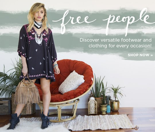 Free People. Discover versatile footwear and clothing for every occasion. Shop Now.