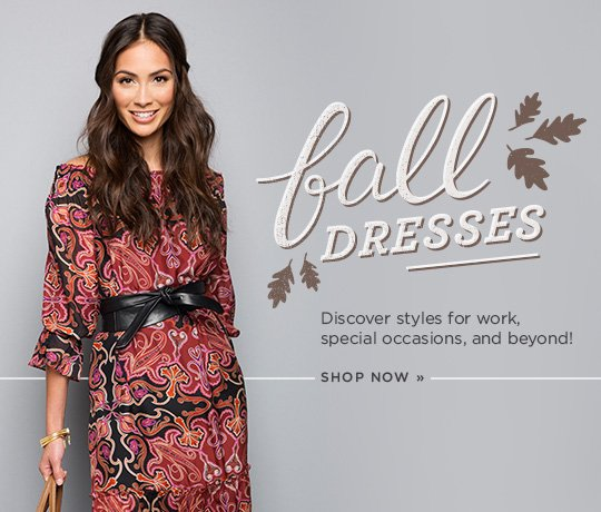 Hero 2 Fall Dresses. Discover styles for work, special occasions and beyond! Shop now.
