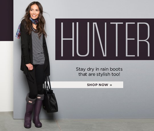 Hero 3 Hunter. Stay dry in rain boots that are stylish too! Shop Now.