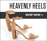 Heavenly Heels, Shop Now.
