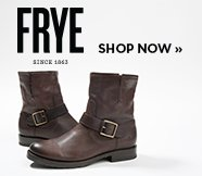 sp-1-FRYE-18-9-2016 FRYE. Shop now. Image of a black engineer boot.
