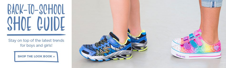 Shop our back to school shoe guide