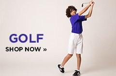 Shop Kids Golf Clothing and Shoes