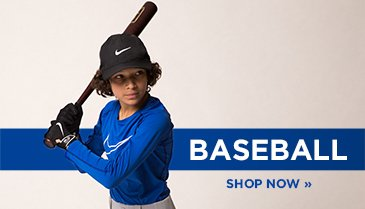 Shop Kids Baseball Clothing and Shoes