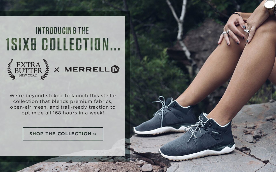 shop the merrell and extra butter collection of shoes