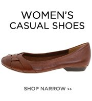 Women's Narrow - Casual