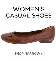 Women's Narrow - Casual