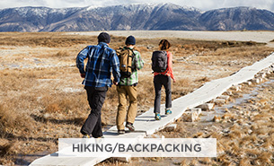 Shop TNF Activity- Hiking/Backpacking