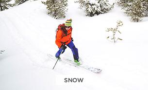shop TNF Activity- snow