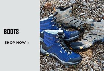 Promo 1 Boots. Shop Now.