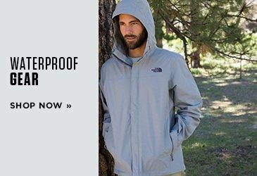 Promo 2 Waterproof Gear. Shop Now.