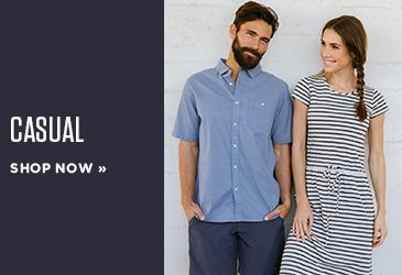 Promo - Travel Clothing - Wrinkle Resistant, Quick Dry Fabrics