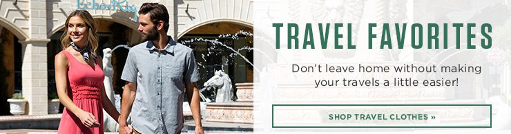 Promo - Shop Travel Clothing