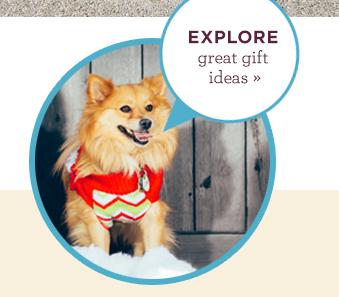 "Tigger says \""Need holiday gift ideas?\"""