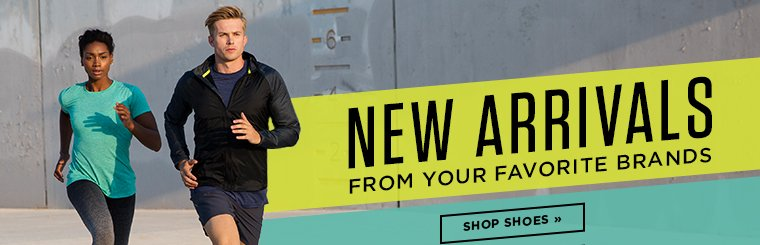 Hero 1 New arrivals from your favorite brands. Shop Shoes.