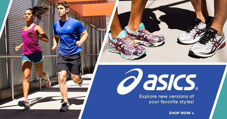 Hero - Shop Asics Running Shoes