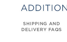 Shipping & Delivery FAQ