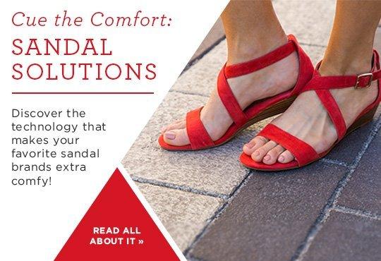 Shop Comfort Sandals Lookbook