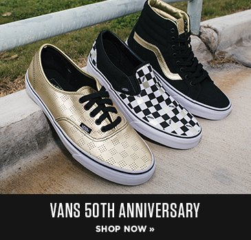 Promo - Vans 50th Anniversary sneakers