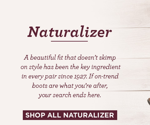 Shop all naturalizer