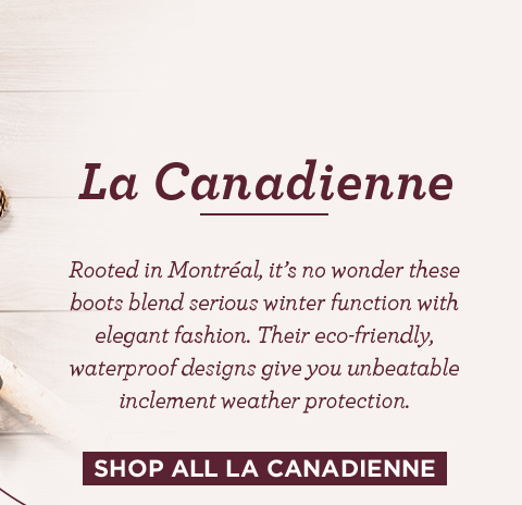 Shop all La Canadienne