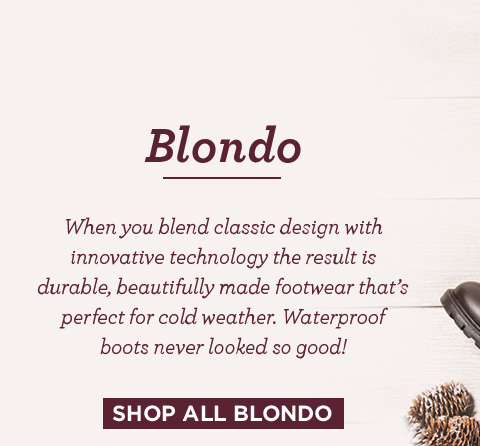 shop all blondo