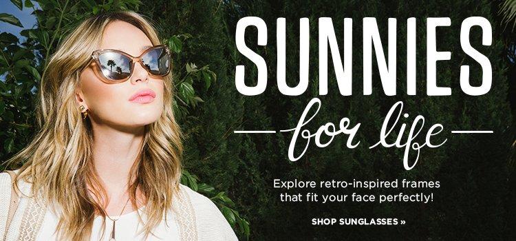 Hero: Shop Retro Inspired Sunglasses