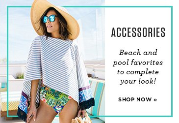 Promo - Swim and Beach Accessories, Hats, Sunglasses, Scarves