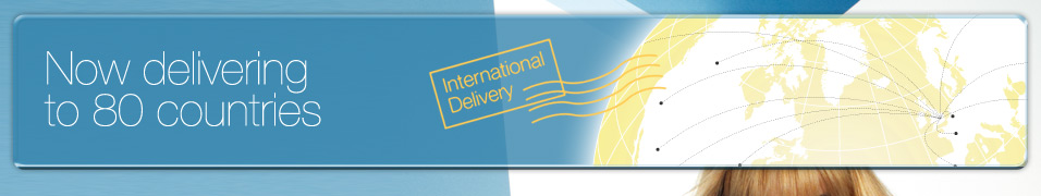Enjoy reduced international delivery costs until Christmas!