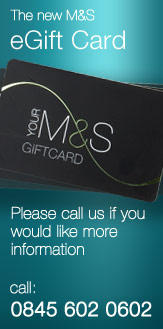 The new M&S eGift Card