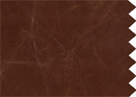 Alaska Leather, teak. 100% leather. Soft & supple with visible natural characteristics.