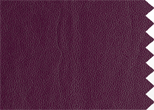 Dakota Leather, plum. 100% leather. Easycare finish.