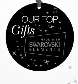 Shop all gifts made with SWAROVSKI ELEMENTS