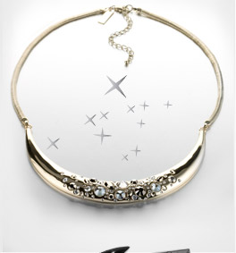 Sparkle Torq Necklace