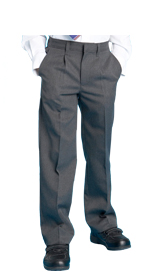 Boy's Supercrease™ Pleat Front Trousers