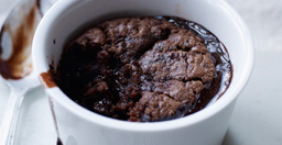 Chocolate orange pudding