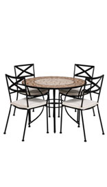 Rosemoore Dining Table & 4 Chairs