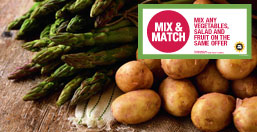 2 for £3 produce mix & match