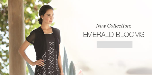 New Collection: Emerald Blooms