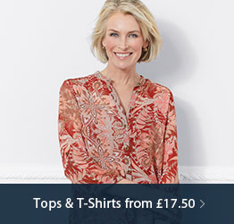 Tops & T-Shirts from £17.50