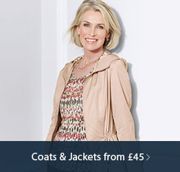 Coats & Jackets from £45.00